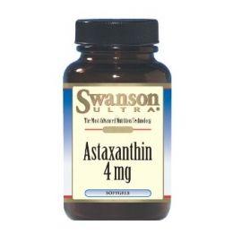 Swanson Astaxanthin 4 MG maisto papildas stiprinantis raumenis, gerinantis odos būklę (apsaugantis nuo laisvųjų radikalų)