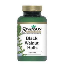 Swanson Graikinis juodasis riešutmedis N60 maisto papildas turtingas vitaminų, valantis odą, gerinantis apetitą