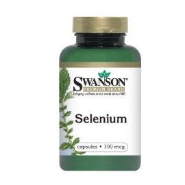 Swanson SELENAS N200 maisto papildas, antioksidantas, gerinantis reprodukcines savybes, stabilizuojantis plaukų bei nagų būklę