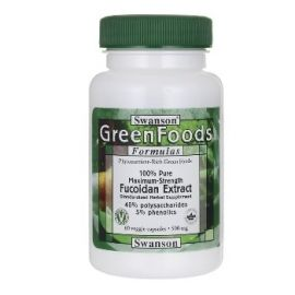 Swanson Green Foods Formulas Fukoidano ekstraktas N60, maisto papildas, skirtas imuninei sistemai stiprinti, uždegimams gydyti